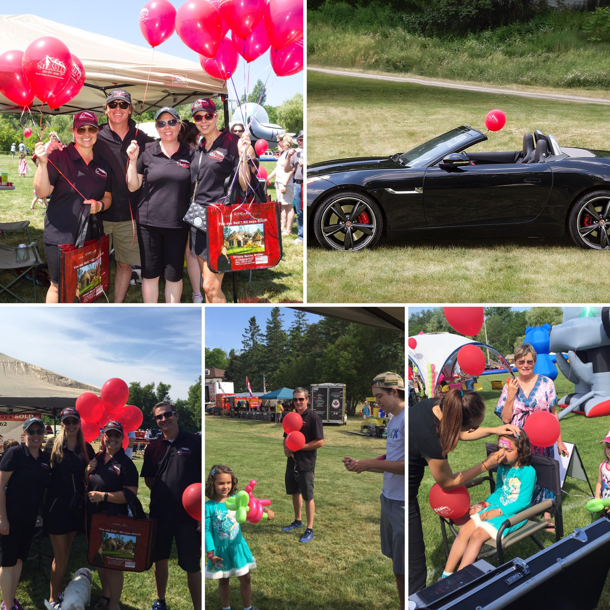 THE SILSELLS TEAM AT THE CLASSICS AGAINST CANCER 2016 CAR SHOW IN GEORGETOWN