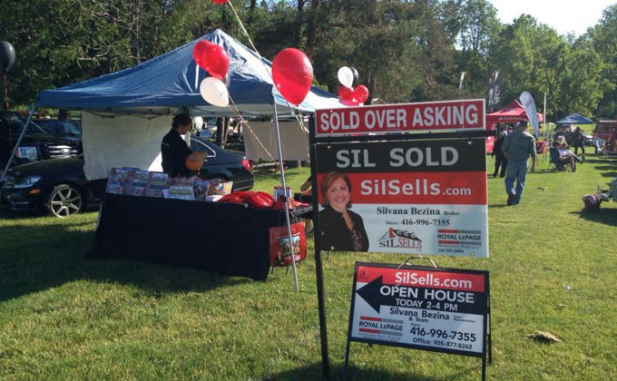 SilSells Team Supports the Classics Against Cancer Car Show